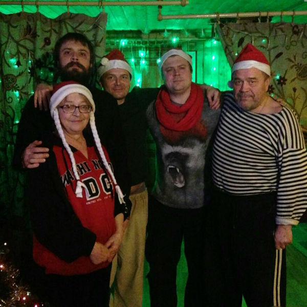 Артист традиционно встречает Новый год только в кругу семьи