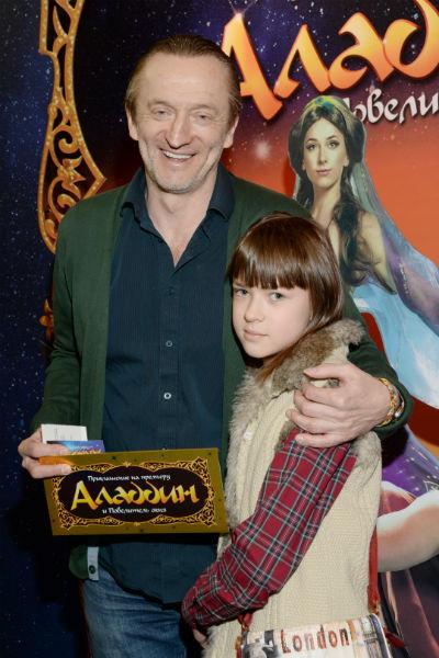 Александр с дочерью Марией