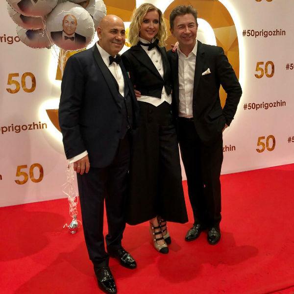 Иосиф Пригожин и Валерий Сюткин с женой