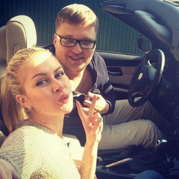 Егора Холявина и Марину Африкантову связывали романтические отношения