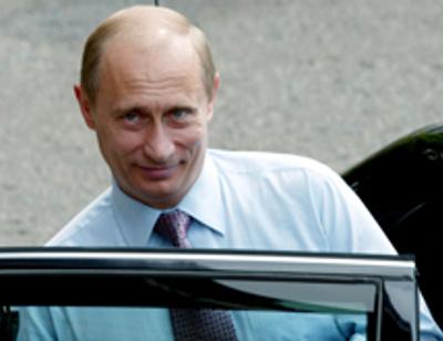 Владимир Путин ограничивает движение кортежа