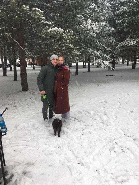 Артем с женой