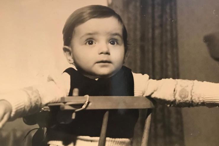 Марк Богатырев в детстве