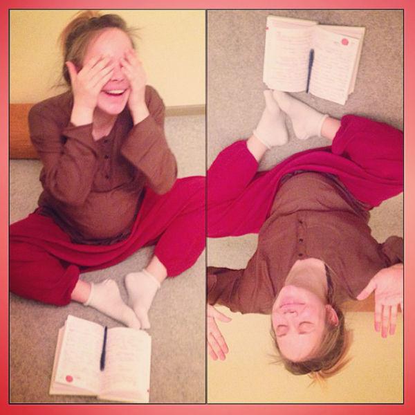 Актриса признается, что в восторге от курсов для будущих мам