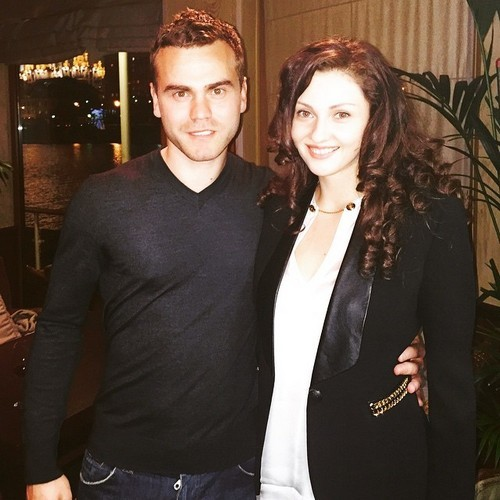 Екатерина Герун и Игорь Акинфеев
