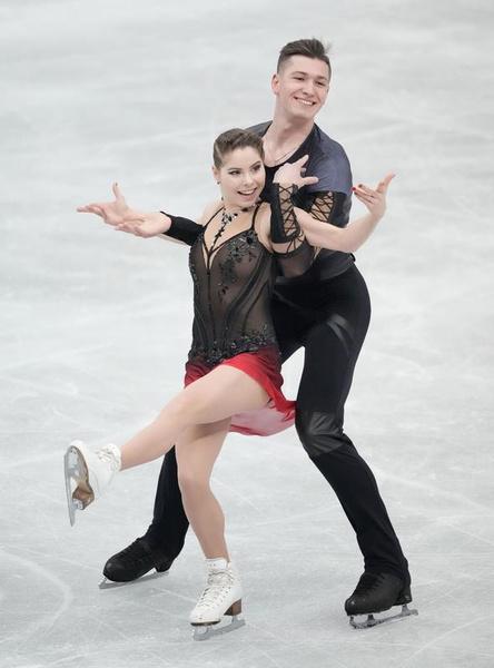 Мишина и Галлямов вызвали восторг у зрителей и коллег