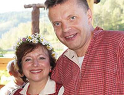 Чекалова и Парфенов празднуют жемчужную свадьбу в Лондоне