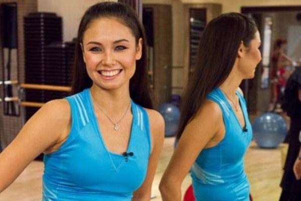 В передаче «Академия красоты с Ляйсан Утяшевой» спортсменка вновь предстала стройной