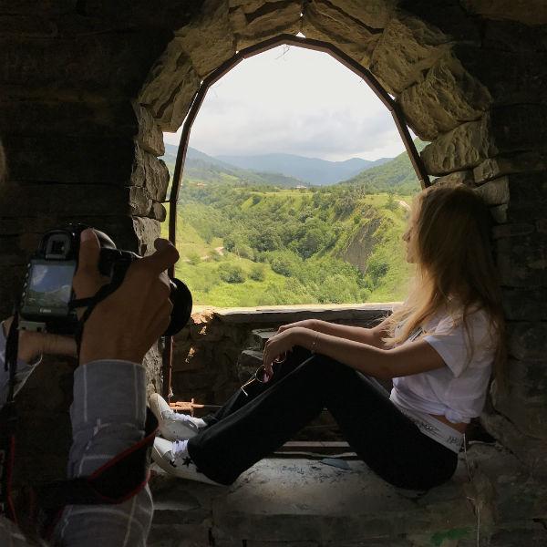Лиза поделилась с подписчиками фотографиями из поездки