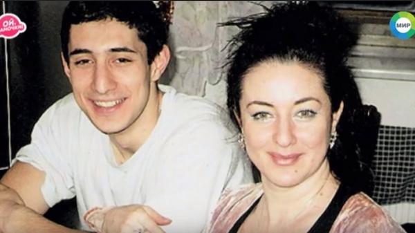 Тамара Гвердцители с сыном