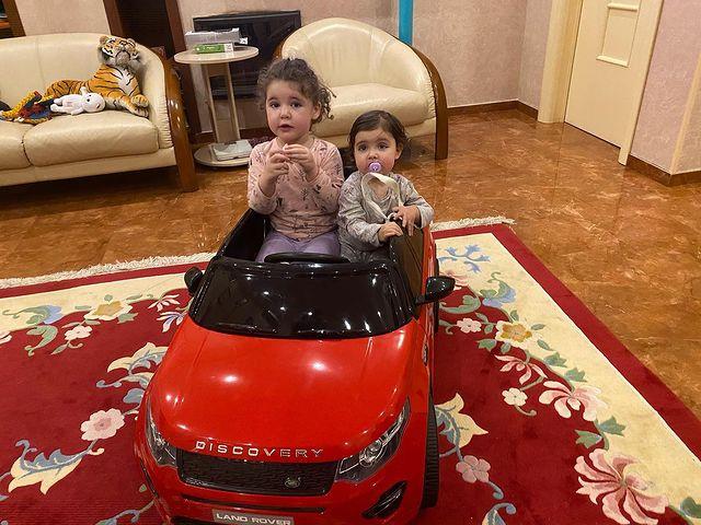 Дочери Ирины и Эммануила Виторган