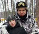 Николай Валуев порыбачил с сыном