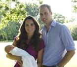 Кейт и Уильям опубликовали первые официальные снимки принца Георга