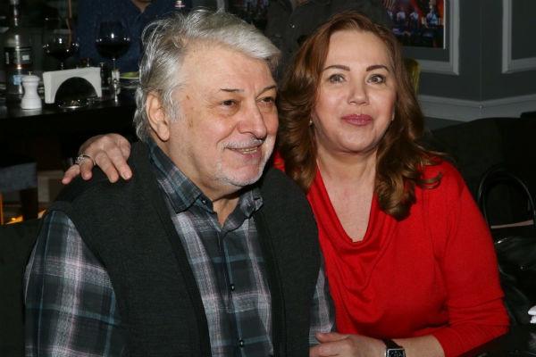 Добрынин со второй женой Ириной