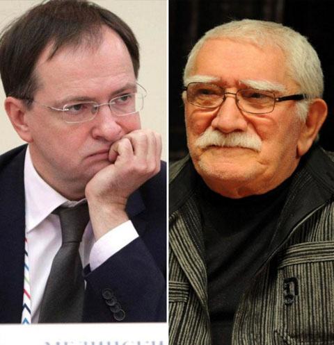 Владимир Мединский и Армен Джигарханян