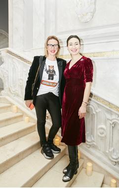 Рита Митрофанова и Екатерина Летучая