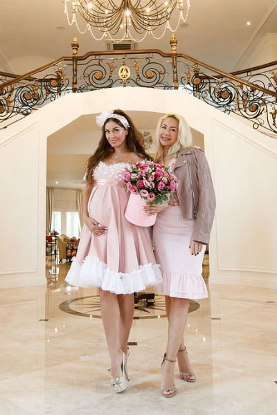 Таня Терешина и Анастасия Гребенкина