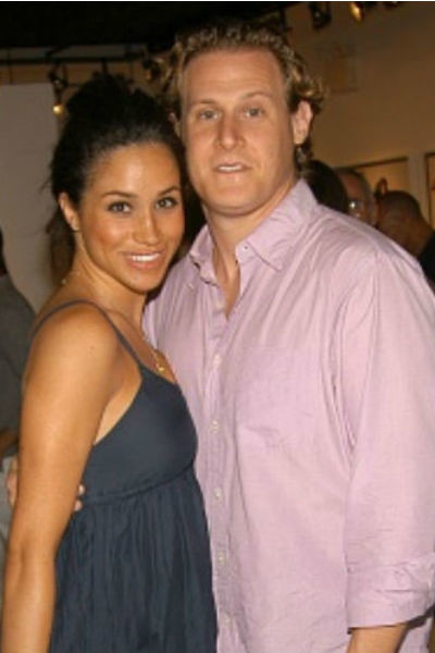 Меган Маркл с бывшим мужем