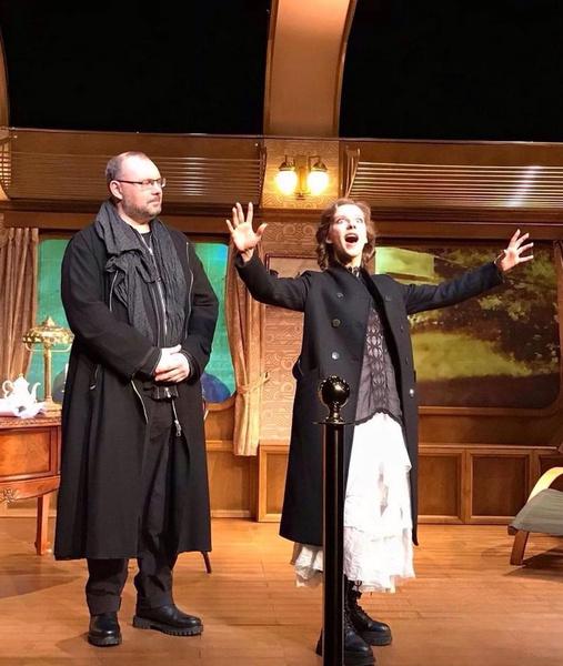 Вчера Лиза блистала в спектакле «Зимние заметки» в Театре Наций