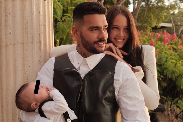 Тимати и Анастасия Решетова с сыном Ратмиром