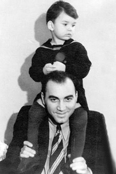 Владимир Молчанов с отцом