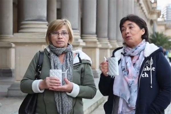 Таисия Бурд (на снимке слева) и Лилия Жукова сейчас отдыхают в Чехии
