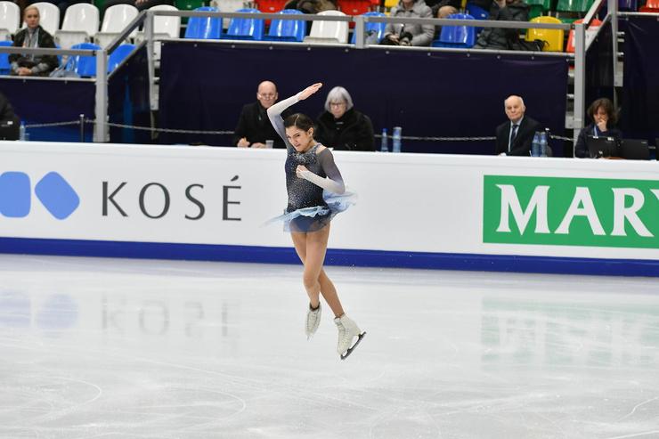 Евгения готовится к новым соревнованиям