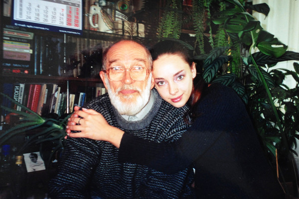 Внучка Нилова Елизавета тоже стала актрисой