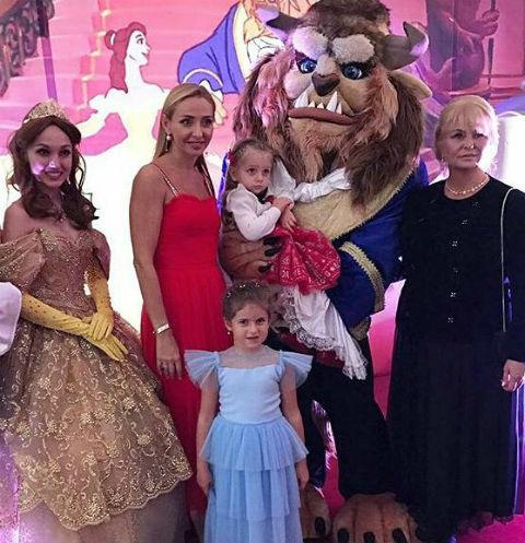 Татьяна Навка отметила день рождения дочери