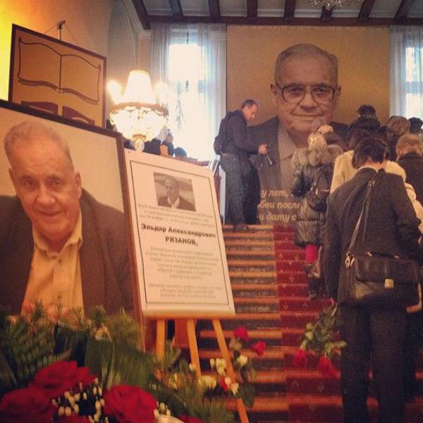 Прощание с великим режиссером проходило в Центральном доме литераторов