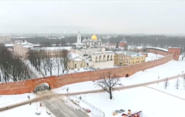 Великий Новгород богат на исторические достопримечательности