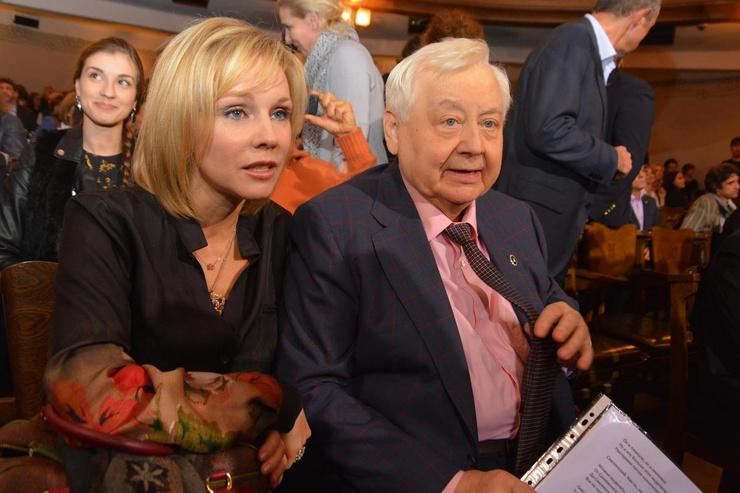 Марина Зудина была второй женой Олега Табакова