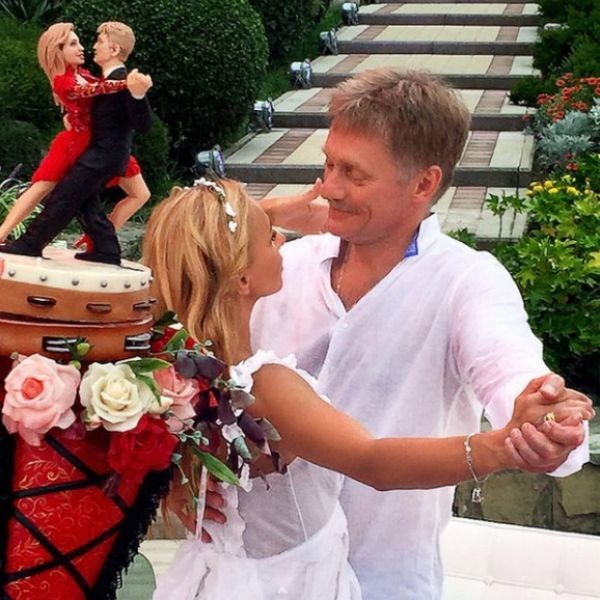 На свадьбе Татьяна и Дмитрий светились счастьем