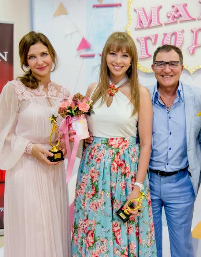 Екатерина Климова, Полина и Дмитрий Дибровы