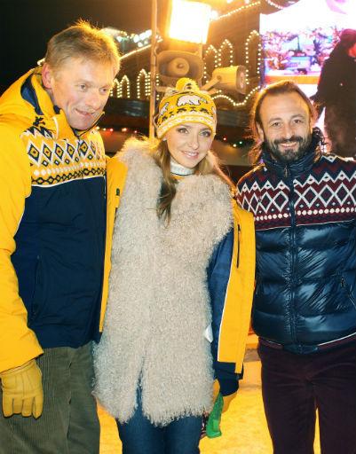 Дмитрий Песков, Татьяна Навка, Илья Авербух