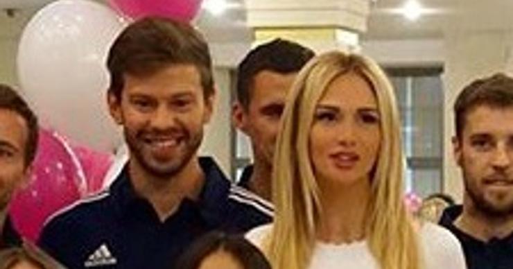 Виктория Лопырева и Федор Смолов впервые встретились после расставания