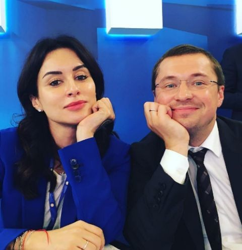 Тина Канделаки и Василий Бровко