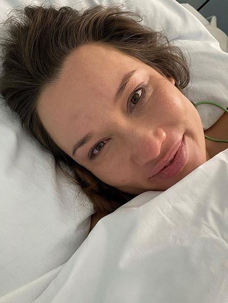 Жена Грачевского Катя после родов