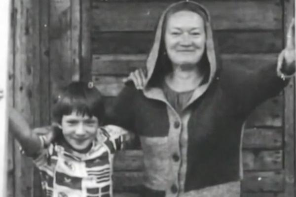 Людмила Полякова с сыном Иваном