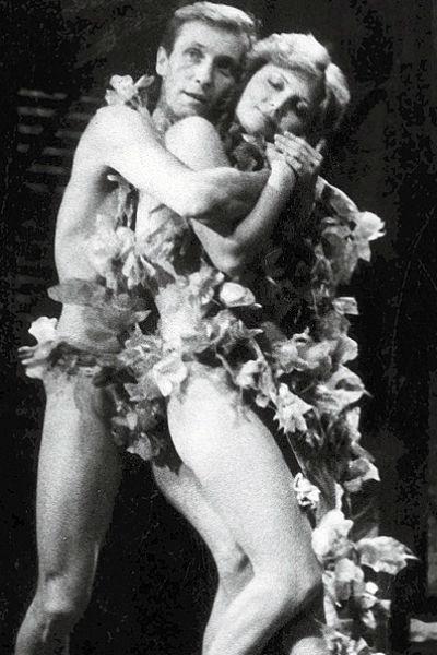 Супруги часто играли вместе на сцене