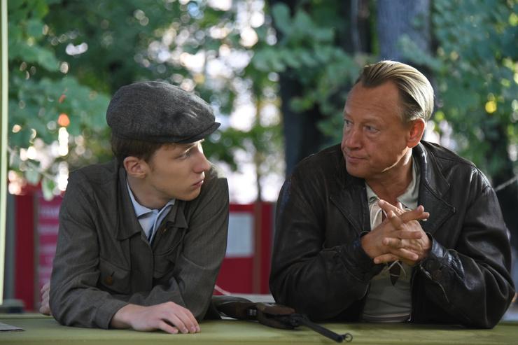 Дмитрий Харатьян и Семен Трескунов
