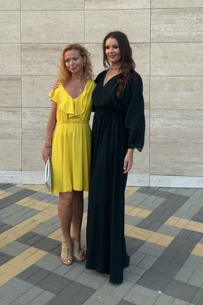 Елена Захарова и Оксана Федорова на фестивале Star Wings