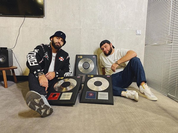 Рэперы рады успеху в карьере