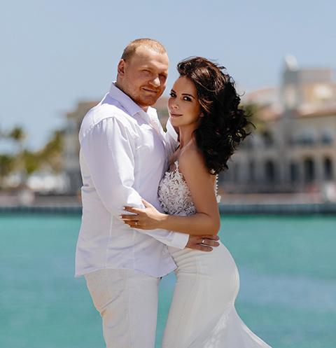 Сергей Сафронов с женой Катей