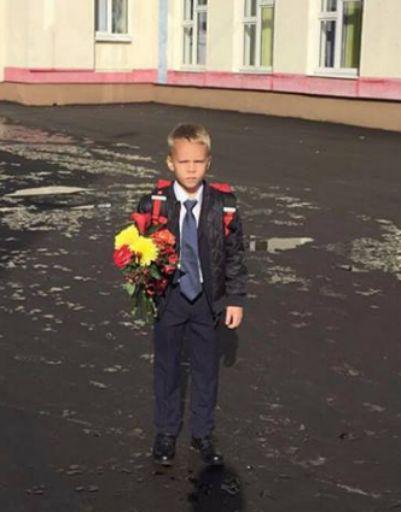 Сын Ксении Новиковой
