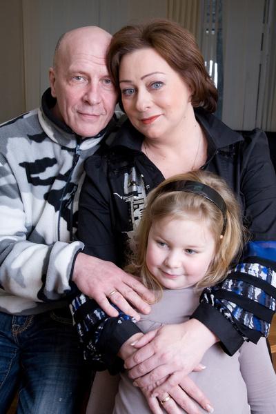 Семейное счастье актриса обрела с Евгением Фоминым