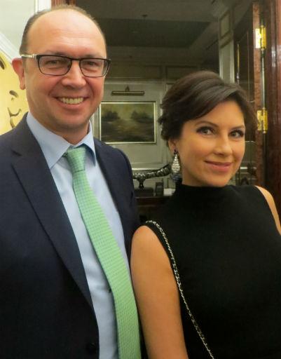 Анна Павлова и Андрей Шторх
