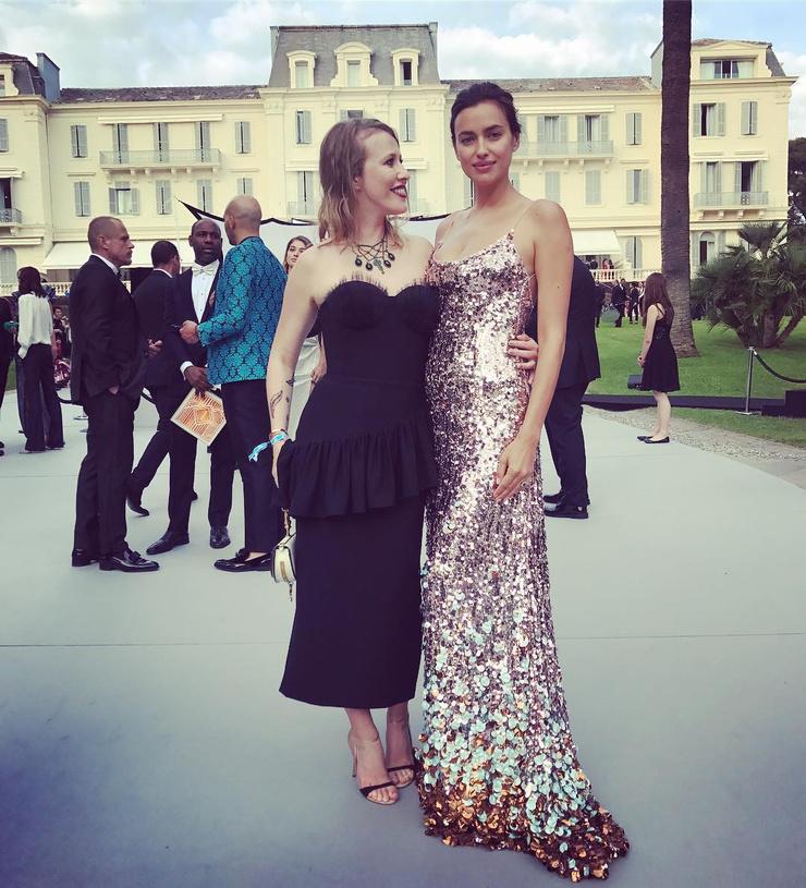 Ксения и Ирина в прошлом году