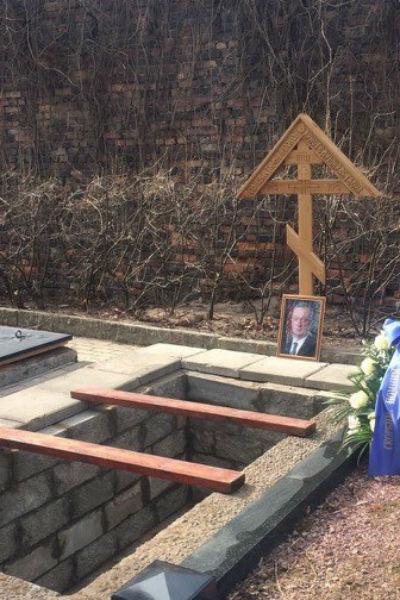 Место, где похоронят Вадима Тюльпанвоа