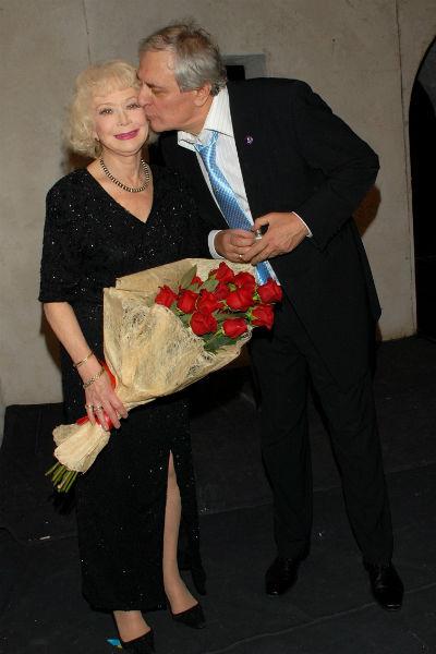 Светлана Немоляева вместе с любимым - актером Александром Лазаревым